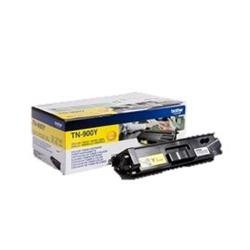 Brother Laser Toner Cartridge Super High Yield Page Life 6000pp Yellow Ref TN900Y