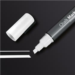 Sigel Chalk Marker Chisel Tip 1-5mm Line White Ref GL181