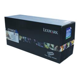 Lexmark C770 High Yield Toner Cartridge Cyan Ref C7702CH