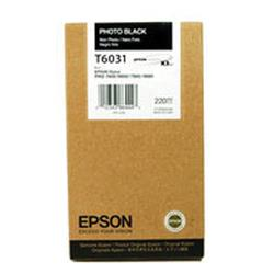 Epson T6031 Photo Black High Yield Inkjet Cartridge For Stylus Pro 7800/9800 Ref C13T603100