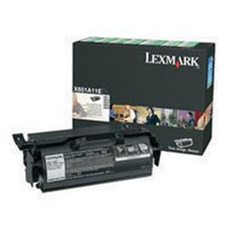 Lexmark Return Programme Toner Black Ref X651A11E