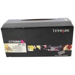 Lexmark C770 High Yield Toner Cartridge Magenta Ref C7702MH