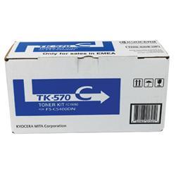 Kyocera FS-C5400DN Laser Toner Cartridge 12K Cyan Ref TK-570C