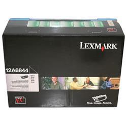 Lexmark Optra T High Yield Return Programme Corporate Cartridge Black Ref 12A6844