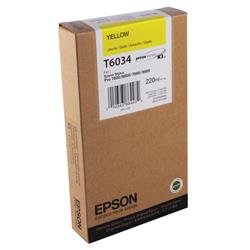 Epson T6034 Yellow High Yield Inkjet Cartridge For Stylus Pro 7800/9800 Ref C13T603400