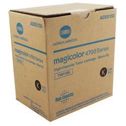 Konica Minolta Magicolor 4750En/Dn Laser Toner Cartridge High Yield 6K Black Ref A0X5150