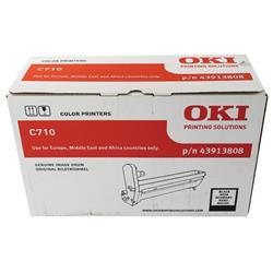 Oki C710 Image Drum Black Ref 43913808 Ref 43913808