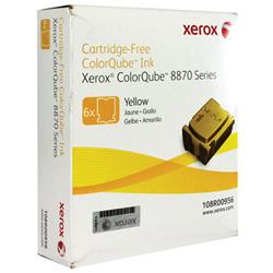 Xerox Colorqube 8870 Ink Stick 17K Yellow Pk 6 Ref 108R00956