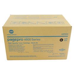 Konica Minolta Pagepro 4650En High Yield Laser Toner Cartridge 18K Black A0Fn022