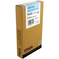 Epson T6035 Light Cyan High Yield Inkjet Cartridge For Stylus Pro 7800/9800 Ref C13T603500