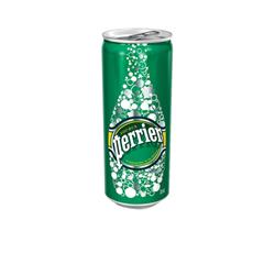 Perrier Sparkling Water 33cl Can Pk 24 Ref 11648958
