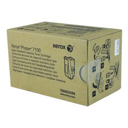 Xerox Phaser 7100 Toner Cartridge Cyan Ref 106R02599