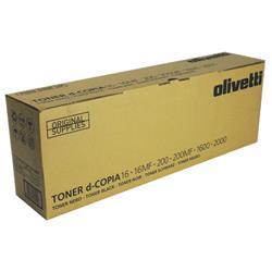 Olivetti Copier Toner Cartridge For D16/D200 Black Ref B0446