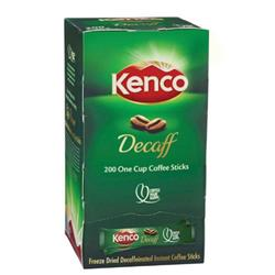 Kenco Freeze Dried Decaffeinated Coffee Sticks 1.8g (Pk 200) Ref 89951