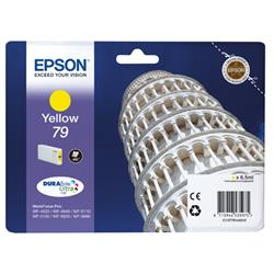 Epson 79 Tower Of Pisa Inkjet Cartridge 6.5ml Yellow Ref C13T79144010 Pk1 Ref C13T79144010