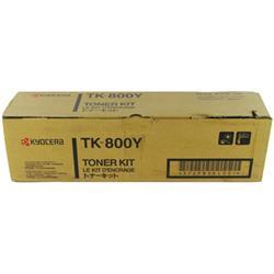 Kyocera FS-C8008N Toner Cartridge 10000 Pages Yellow Ref TK-800Y