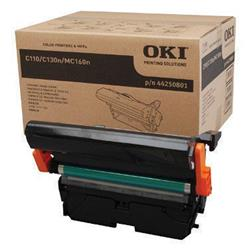 Oki C110/C130 Imaging Unit 45K Black/11.25K Colour Ref 44250801 Ref 44250801