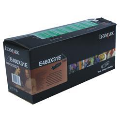Lexmark E460 Return Programme Toner Cartridge Extra High Yield 15K Black Ref E460X31E