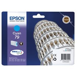 Epson 79 Tower Of Pisa Inkjet Cartridge 6.5ml Cyan Ref C13T79124010 Pk1 Ref C13T79124010