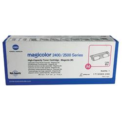 Konica Minolta Magicolor 2430Dl/2400W/2500W Toner Cartridge High Capacity Magenta Ref 1710589-006