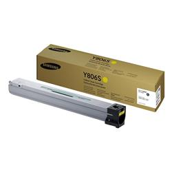 Samsung Y806S (Yield 30,000 Pages) Yellow Toner Cartridge for X7400/X7500/X7600 Series Printers
