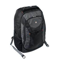 Gino Ferrari Riva Laptop Backpack Nylon Capacity16inch Black Ref GF508