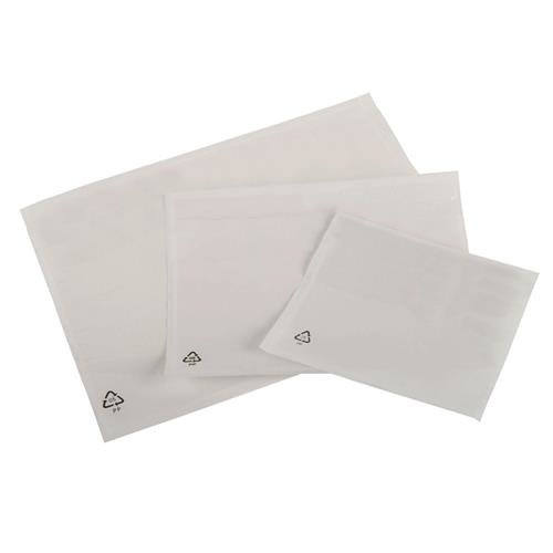packing list envelopes polythene a7 plain pack 1000 a71