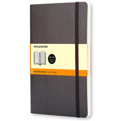 Moleskine Classic Notebook Soft Cover Ruled 192pp 70gsm Large 130x210mm Black Ref QP616