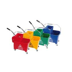 Robert Scott & Sons Microspeedy Bucket & Wringer System for Mopping Red Ref 101248 - Red
