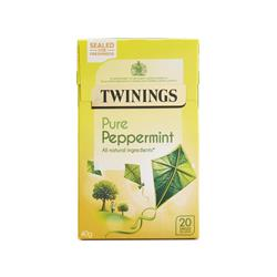 Twinings Infusion Tea Bags Individually-wrapped Peppermint Ref 0403118 [Pack 20]