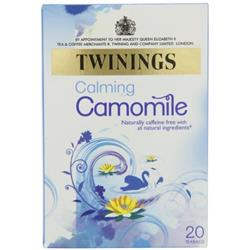 Twinings Infusion Tea Bags Individually-wrapped Camomile Ref 0403147 [Pack 20]