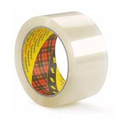 Scotch Packaging Tape Medium-duty Printable Polypropylene Clear Ref 18849 [Pack 36 Rolls]