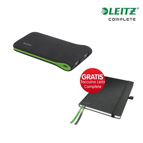 Foto Kit Caricatore portatile USB + Taccuino Leitz Complete A6 Caricabatterie e batterie di backup