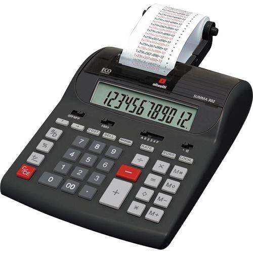 Foto Calcolatrice scrivente Summa 302 Olivetti Calcolatrici scriventi