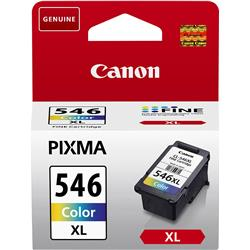 Canon CLI-546 XL Inkjet Cartridge Page Life 400pp 13ml Colour Ref 8288B001
