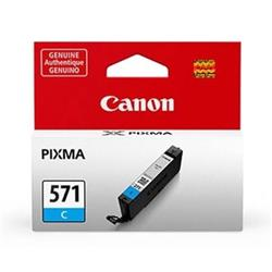 Canon CLI-571 InkJet Cartridge Page Life 340pp Cyan Ref 0386C001