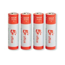 Image of 5 Star Office Batteries AA [Pack 4] [Pack 4]