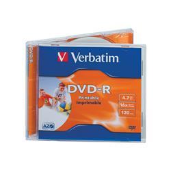 DVD-R wide photo printable