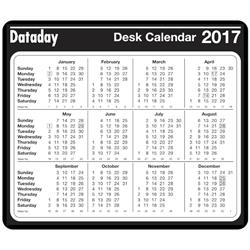At-a-Glance 2017 Year to View Desk Mouse Mat - DMP