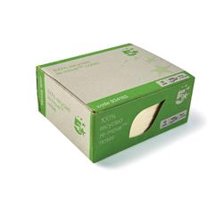 5 Star Eco Re-Move Recycled Notes Repositionable Pad of 100 Sheets 76x127mm Yellow [Pack 12]