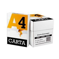 Carta A4 economica - per uso quotidiano - 80 g/mq  - 5 risme