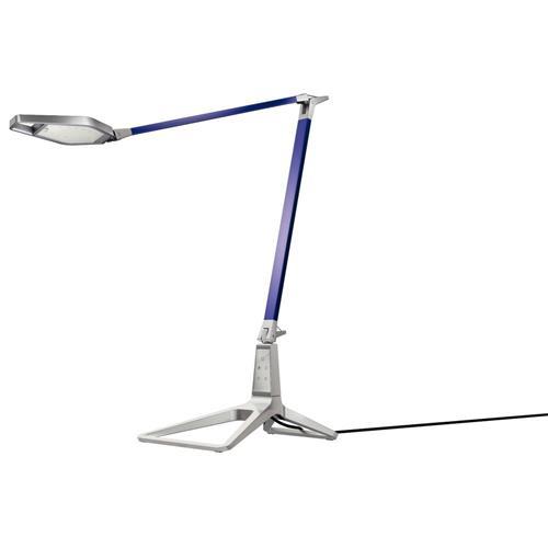 Foto Lampada da tavolo Smart LED Leitz Style - blu titanio Lampade da tavolo