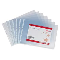 5 Star Office Punched Pocket Polypropylene Top-opening Landscape 120 Micron A3 [Pack 25]