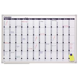 Annual Planner Day Grid 58x14 mm 90x60cm WxH Ref VO-12