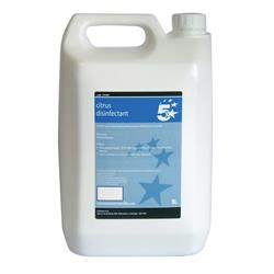 5 Star Facilities Concentrated Citrus Disinfectant 5 Litre