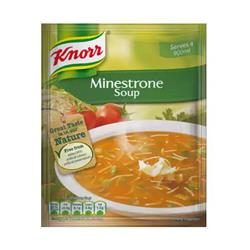 Knorr Soup Ready-to-Eat Minestrone 250ml Ref 15182305 [Pack 12]