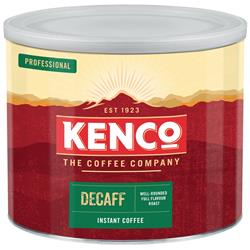 Kenco Decaffeinated Instant Coffee Tin 500g Ref A00605
