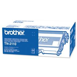 Brother TN-2110 Black Laser Toner Cartridge Page Life 1500pp Ref TN2110