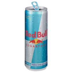 Red Bull Energy Drink Sugar-free 250ml Ref RB2826 - Pack24