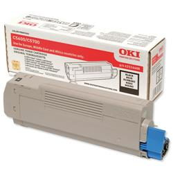 OKI Black Laser Toner Cartridge for C5600/C5700 Ref 43324408